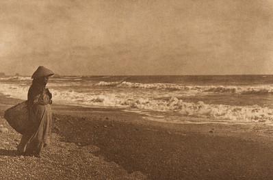 Going for Clams - Quinault (The North American Indian, v. IX. Norwood, MA: The Plimpton Press, 1913)