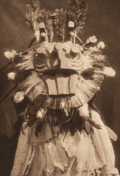 A Cowichan Mask (The North American Indian, v. IX. Norwood, MA: The Plimpton Press, 1913)