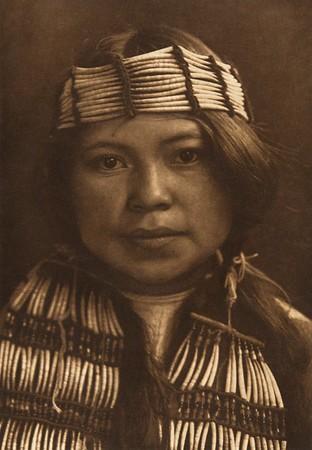 Shell Ornaments - Quinault (The North American Indian, v. IX. Norwood, MA: The Plimpton Press, 1913)