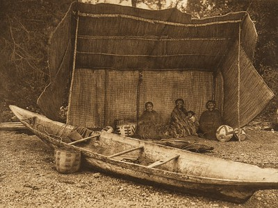 Puget Sound Camp (The North American Indian, v. IX. Norwood, MA: The Plimpton Press, 1913)