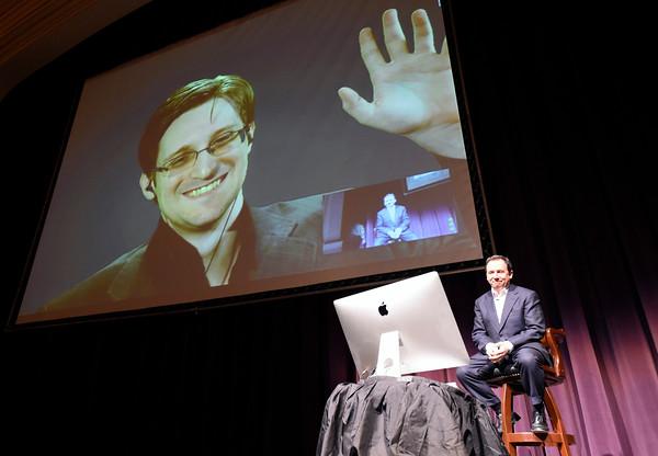 Edward Snowden Skype