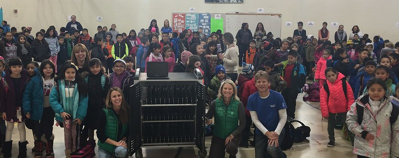 EFEC COW (Chromebook Cart on Wheels) Presentation to Avon Elementary School for the 2015-2016 Academic & Equity Grant Program