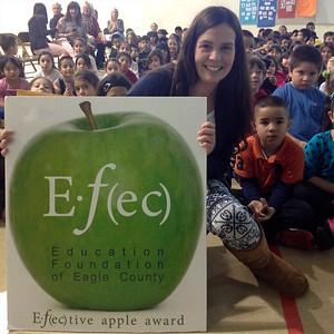 Maria Diaz2nd Grade TeacherAvon Elementary SchoolDecember 2013 Winner