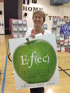 Elizabeth James3rd Grade Teacher Eagle Valley Elementary SchoolOctober 2013 Winner