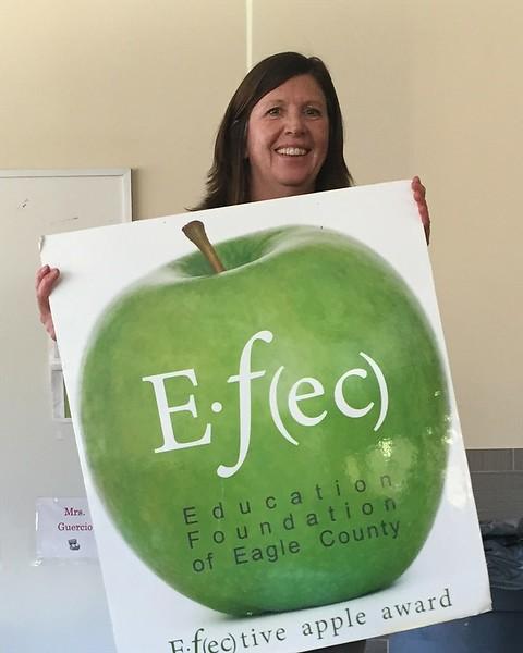 Lyn Loria<br>1st Grade Teacher <br>Eagle County Charter School<br>January 2015 Winner