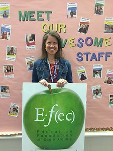 April 2016 Winner: Amy Rogers, 3rd Grade Teacher, Avon Elementary School