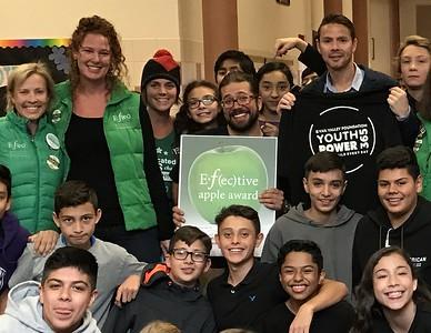 October 2016 Winner: Josh Rumble, Science Teacher at Berry Creek Middle School