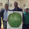Drew Musser<br>4th Grade Teachers <br>Brush Creek Elementary School<br>November 2015 Winner<br>With Dr. Jason Glass, ECSD Superintendent and EFEC Trustees Felicia Battle, Wendy Rimel &amp; Kelly Pope
