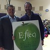 Drew Musser<br>4th Grade Teachers <br>Brush Creek Elementary School<br>November 2015 Winner<br>With Dr. Jason Glass, ECSD Superintendent