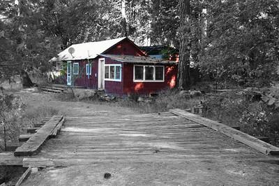 Red Cabin - Cedar Point Ranch, Mariposa, Ca