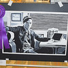 """Jughead"", an acrylic by MaKenzi Wilson, a 12th grader at South Central High School won Best of Show for her age group. Dawn Schabbing photo"