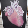 """The pastel titled, """"In Bloom,"""" by Allie Woods, 12th grade student at Effingham High School was on display at the Effingham Art Guild Children's Art Show."""