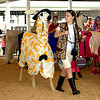 Olivia Katt leads her llama around the show ring during the 4-H Llama Show at the Effingham County Fair. Kaitlin Cordes photo