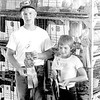 Andy Kollmann, left, and Alana Winter, right, display their awards during the Effingham County Fair. EDN file photo