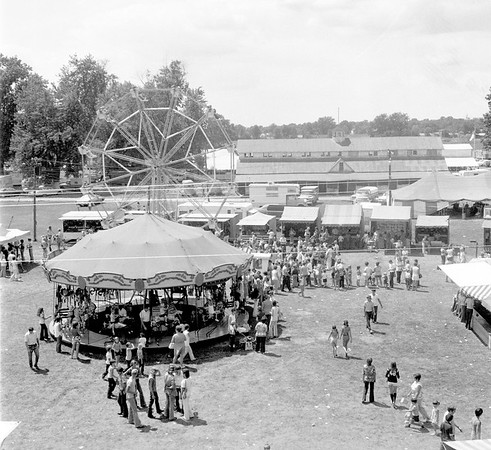 A 1974 view of the Effingham County Fair carnival. EDN file photo