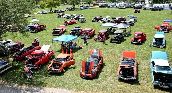Fifty-eight cars entered the 9th Annual Effingham County Fair Car Show on Saturday. Charles Mills photo