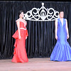 2020 Effingham County Fair Queen contestants, from left to right, Allison Hall, Katelyn Jansen, Emily Becker, Taylor Hartke, Abigail Cothran and Kyandra Zerrusen pose in their evening gowns during the 2020 queen pageant.