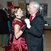 Kendra Johnson, left and Fred Johnson, right, took part in their second Civil War Grand Ball Saturday night at the Effingham County Museum in downtown Effingham. Charles Mills photo