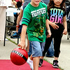 Gage Dugan bowls during Effingham FreedomFest, which was held at the Village Square Mall Saturday.<br /> Tony Huffman photo