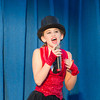 """Abby Cothran of Teutopolis entertains the crowd Saturday during the Effingham County Fair Talent Show. Cothran Sang """"Born To Entertain"""" in the Junior Division of the show. 