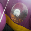 Children enjoy one of the inflatable indoor fun houses Friday during the Effingham County Fair in Altamont. The inflatable fun houses, slides and bounce houses were provided by Tonns of Fun. | Photo by Alexa Rogals