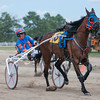 Harness Racing is a fair staple, as there are several races throughout the Effingham County Fair days.   Photo by Alexa Rogals