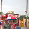 Despite the consistent rainfall, many fair-goers enjoyed the opening day of the Effingham County Fair. While some took shelter under pavilions, others utilized umbrellas, jackets and hats and continued to walk the fairgrounds. | Photo by Cassie Porter