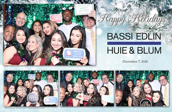 Bassi Edlin Huie & Blum Holiday Party