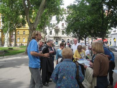 Begin walking tour of Zagreb