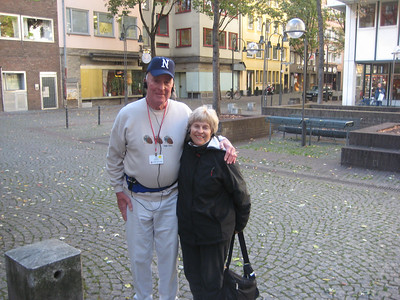 Joy and Jim in Cologne Germany.