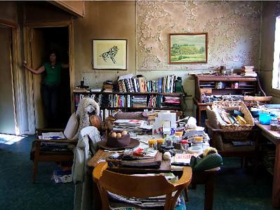 Living room, February 2006