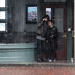 The Shelter of One Another.<br /> <br /> A cold autumn morning in Portland, ME.