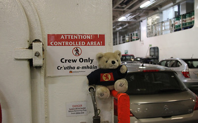 CalMac joins the crew? MV Isle of Lewis car deck