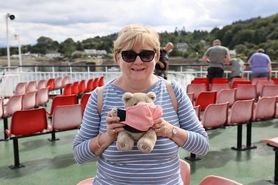CalMac the Bear all set for disembarkation on Isle of Mull