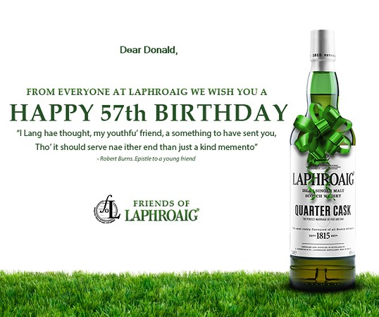 21 years as a member of the Friends of Laphroaig.   Plot number 4456