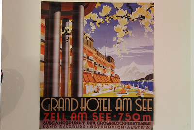 Grand Hotel, Zell am See.  We upgraded to a room with a balcony view of the railway!  One of the few holidays I have left for home reluctantly.  There is a story...