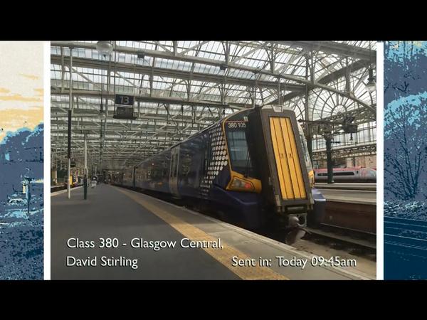 #TrainspottingLive - shame they got my name wrong!