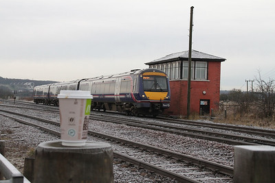 170423 passes Larbert Junction