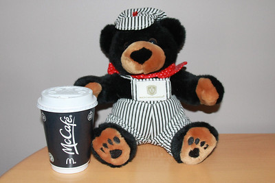 McCafe?   I'm not sure.   It won't catch on with me....  This chap doesn't have a name.   All I know is that he is Canadian.