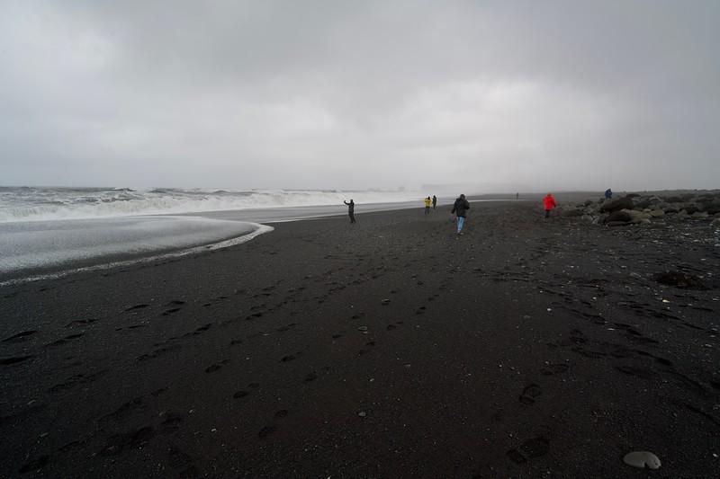 Black sand bei Vik