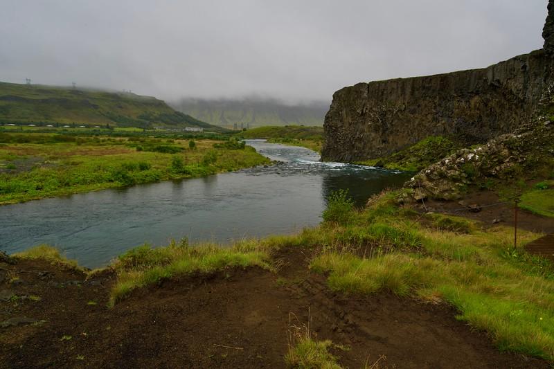 Unterhalb Hjalparfoss