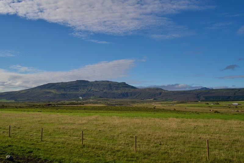 Landschaft bei Fludir