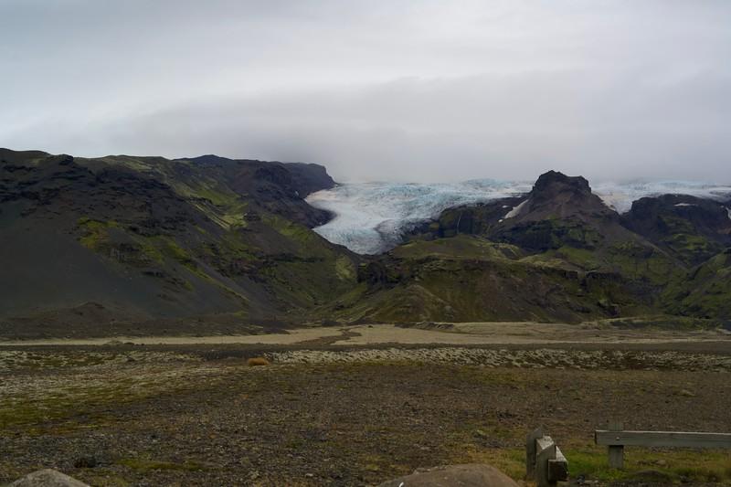 Einer der unzähligen Ausläufer von Vatnajökull