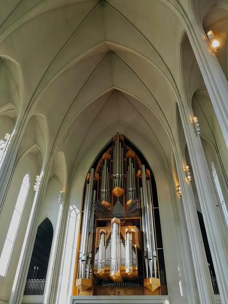 Orgel in der Hallgrimskirkja