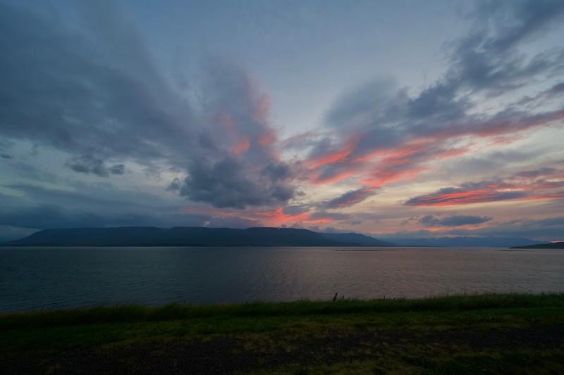 Sonnenuntergang in Nollur