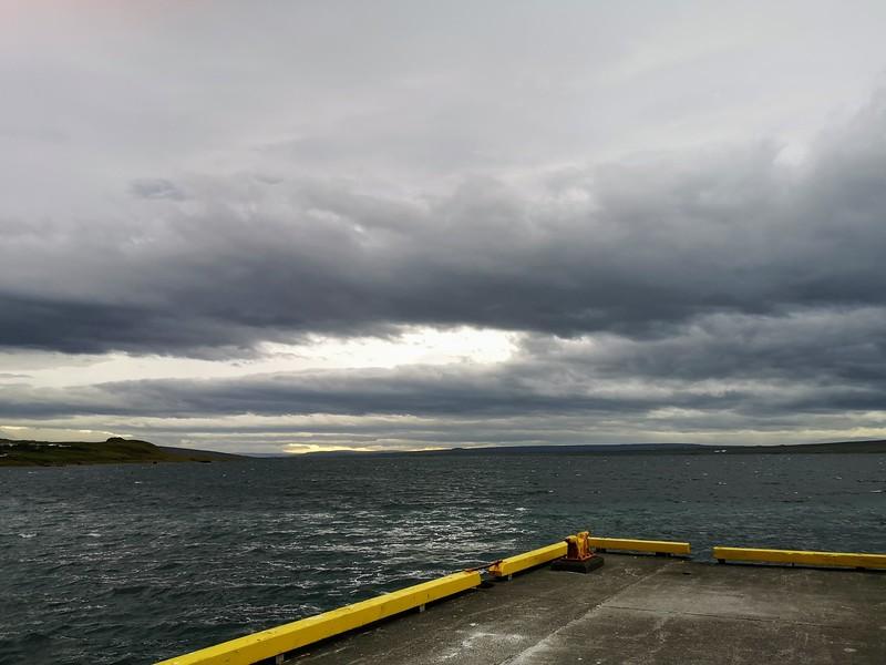 Der Hafen von Hvammstangi