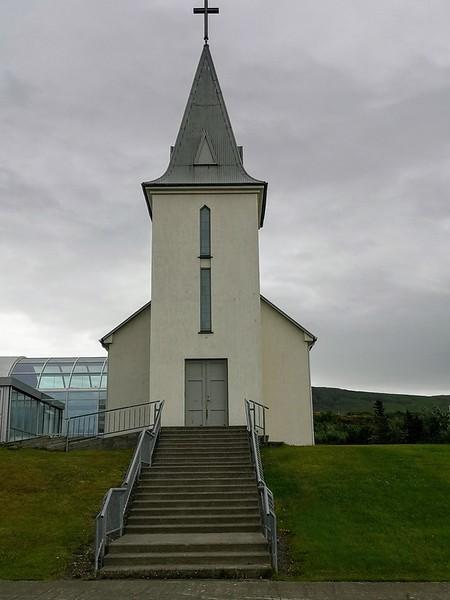 Kirche in Hvammstangi