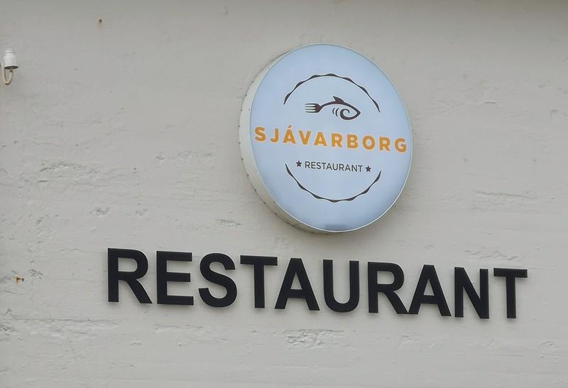 Restaurant (gut!) in Hvammstangi