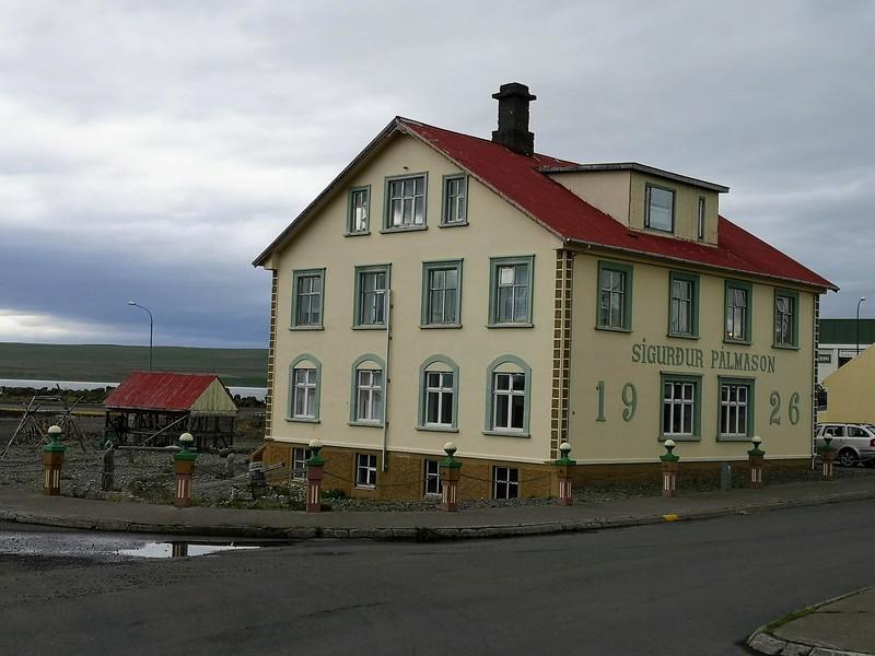 Handelszentrum in Hvammstangi