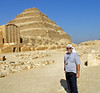 Temple complex at Saqqara, Egypt - authentic Texas Sheik